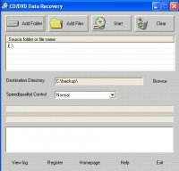 CD/DVD Data Recovery